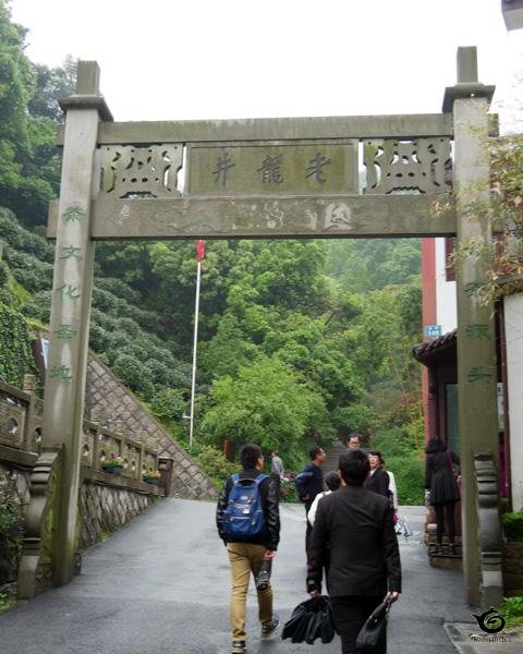 老龍井のゲート